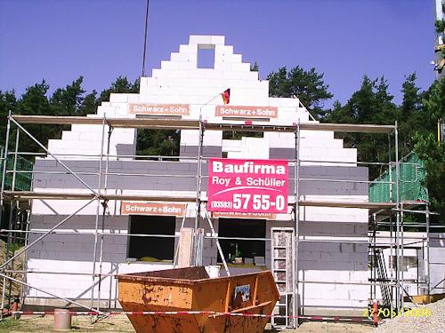 Neubau Einfamilienhaus in Train bei Regensburg