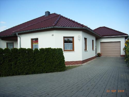 Neubau Einfamilienhaus Humboldtsiedlung, Zittau im Bungalowstil